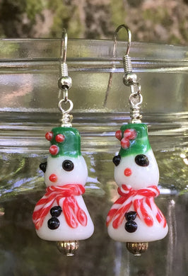Snow People Earrings