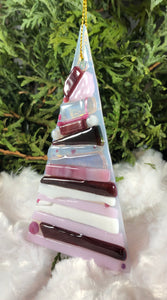 Holiday ornaments - Pink Layers