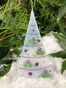 Holiday ornaments - Lavender Dragonfly