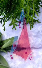 Load image into Gallery viewer, Holiday ornaments - Abstract PINK !