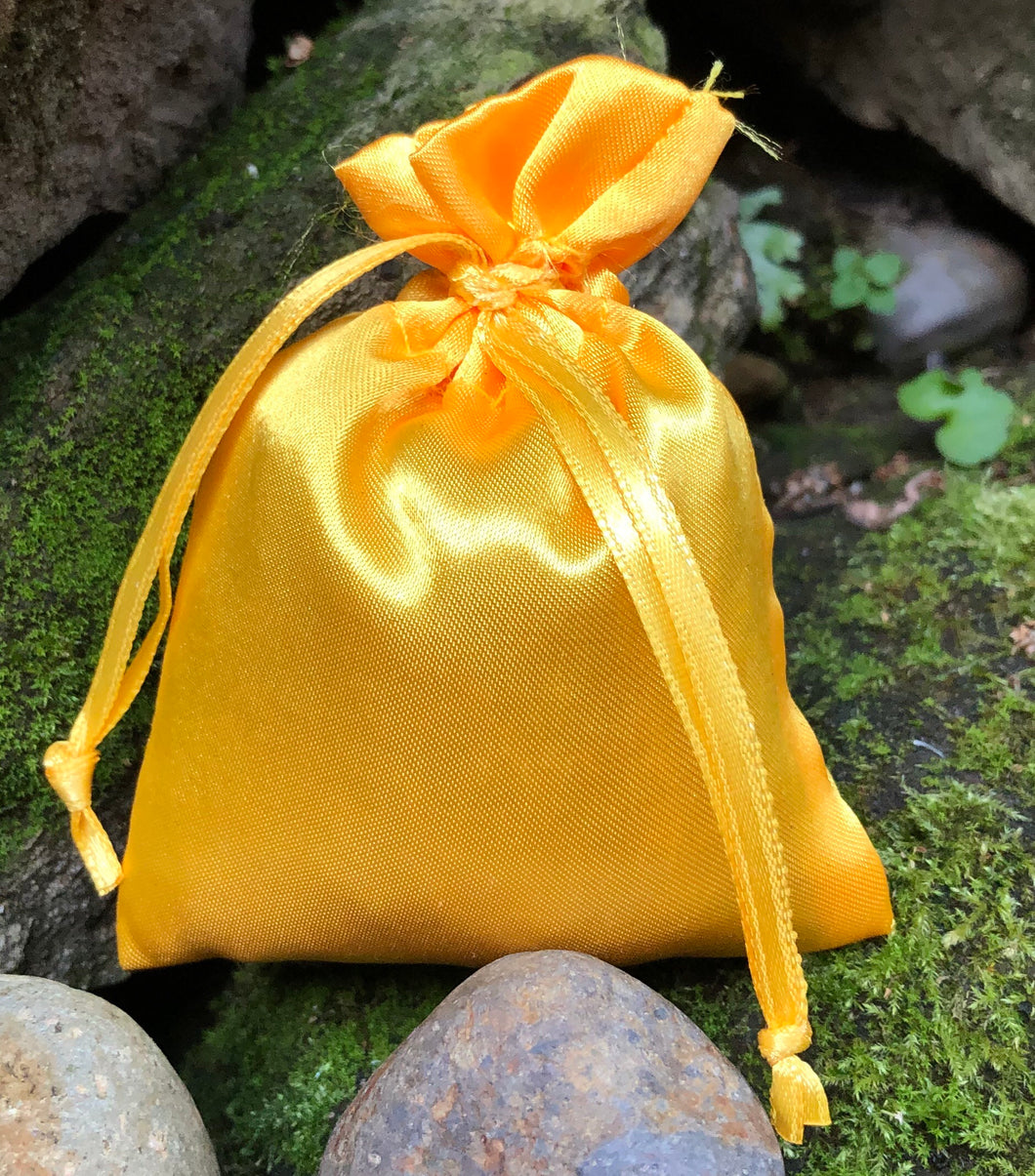 Bright Yellow Satin 3