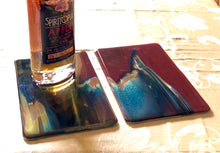 Load image into Gallery viewer, Petrified Wood Fused Glass Plates