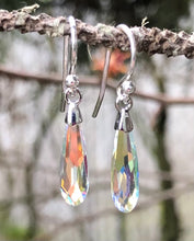 Load image into Gallery viewer, Swarovski Crystal Raindrops - Petite Crystal AB