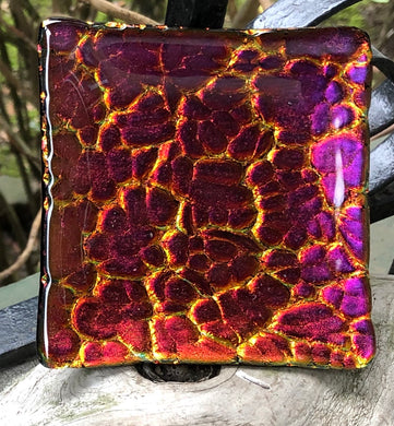 Lovely Lava - Fused Glass Dish