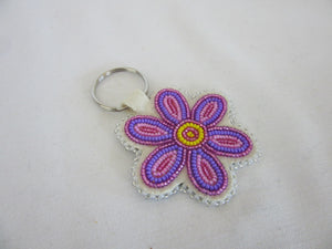 Key Chain - Rosebud Black