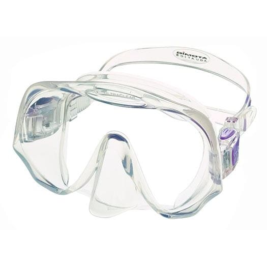 Atomic Frameless Mask - Clear / Purple / Medium - Masks