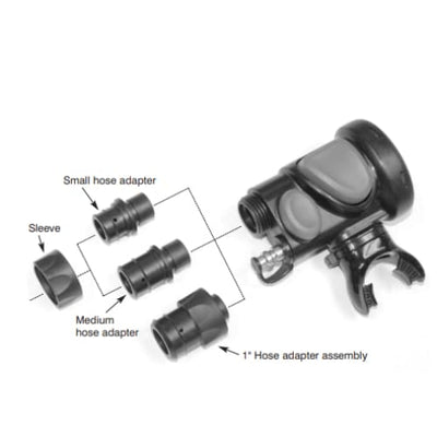 Atomic SS1 Adapter Assembly - 1 inch - Regulator Accessories