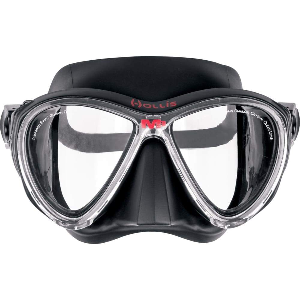Hollis M3 Mask - Black / Black - Masks