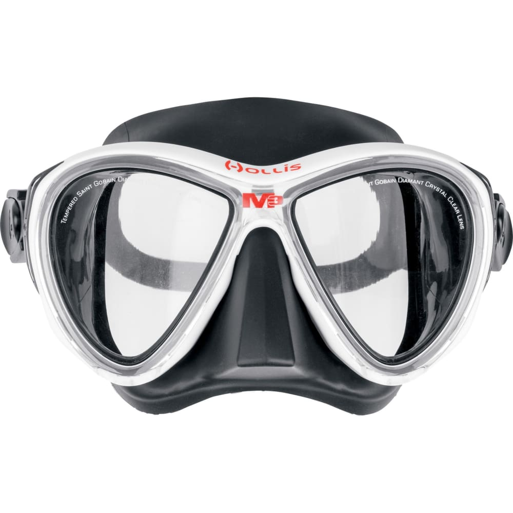 Hollis M3 Mask - Black / White - Masks