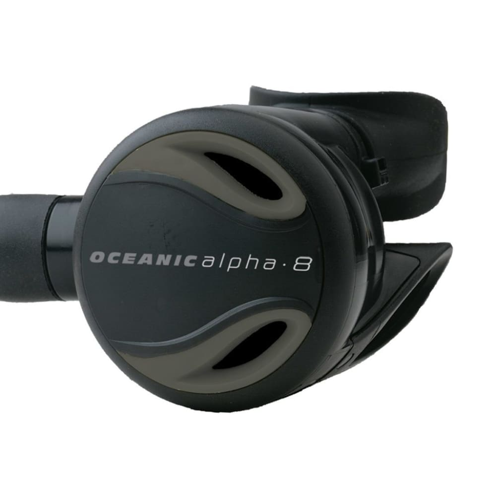 Oceanic Alpha 8 Regulator 2nd Stage - Grey - Regulators