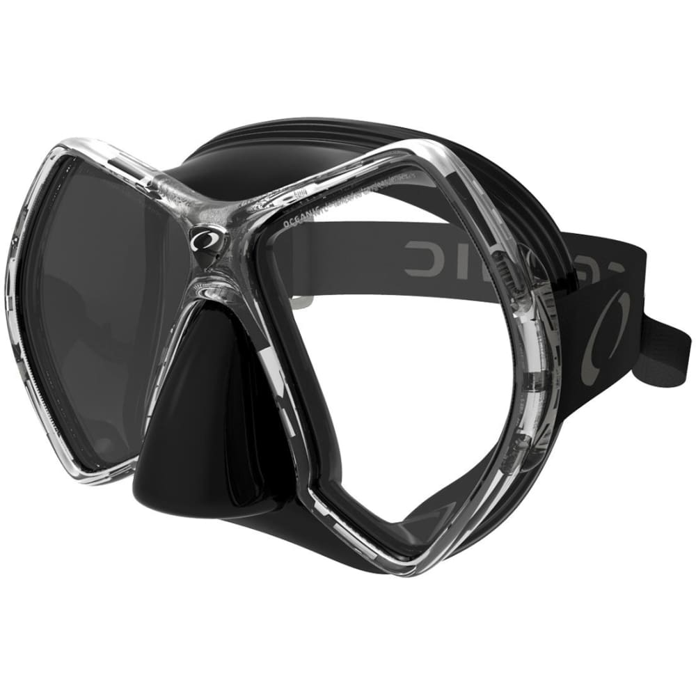 Oceanic Cyanea Mask - Black / Titanium - Masks