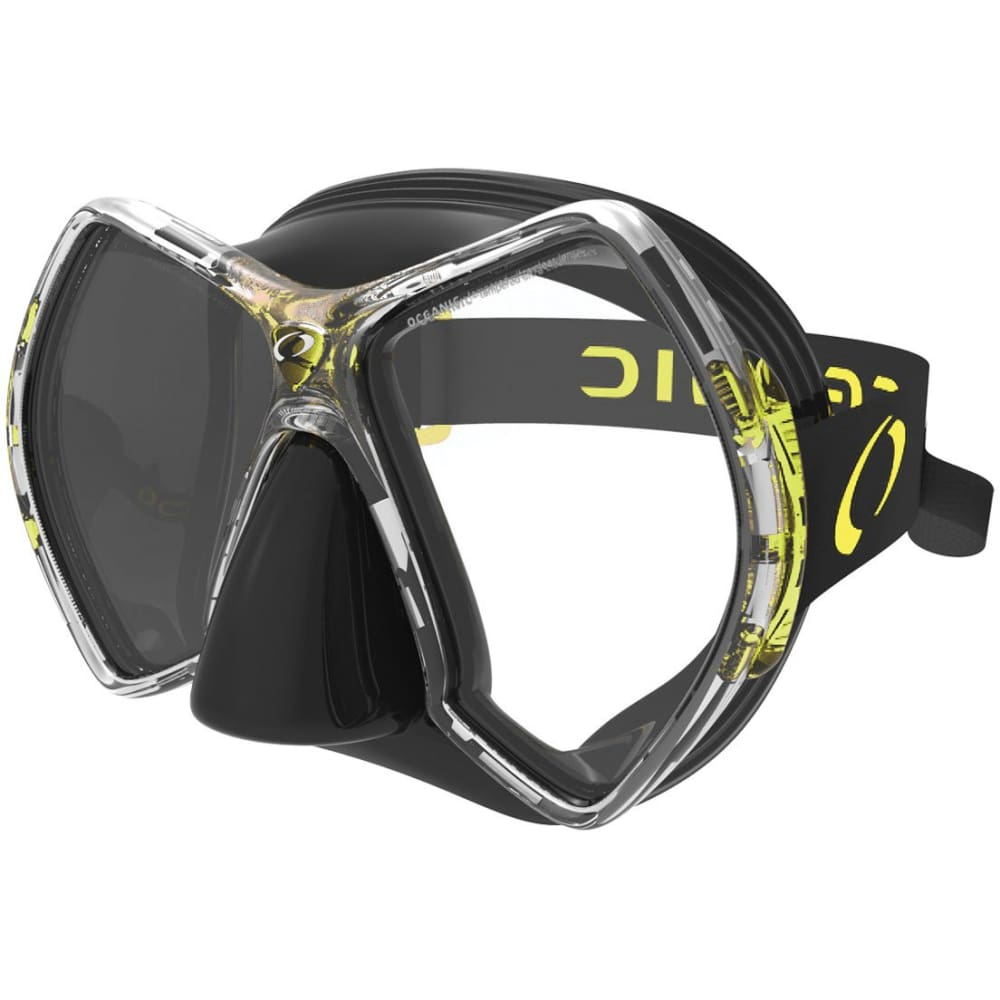 Oceanic Cyanea Mask - Black / Yellow - Masks