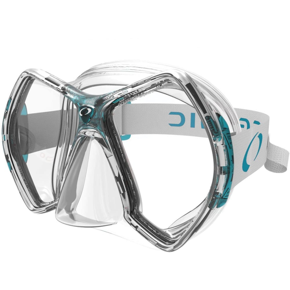 Oceanic Cyanea Mask - Sea Blue / Clear - Masks