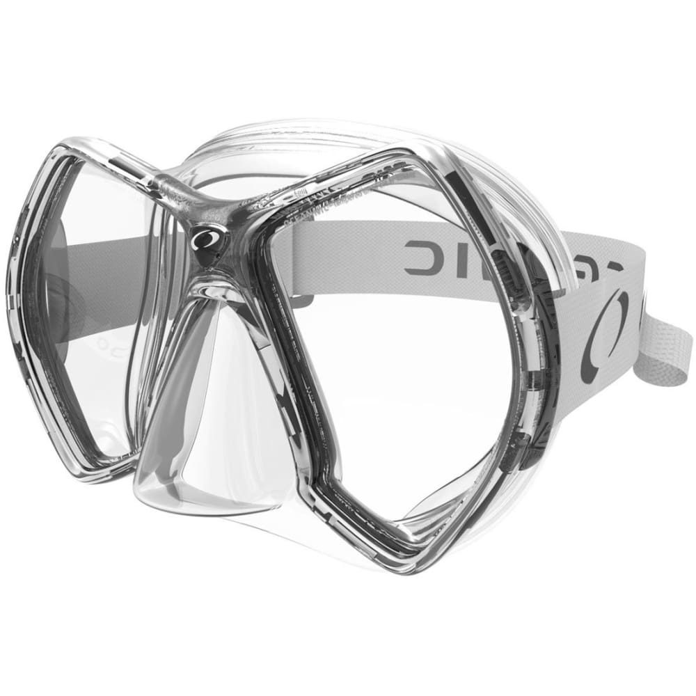 Oceanic Cyanea Mask - Titanium / Clear - Masks