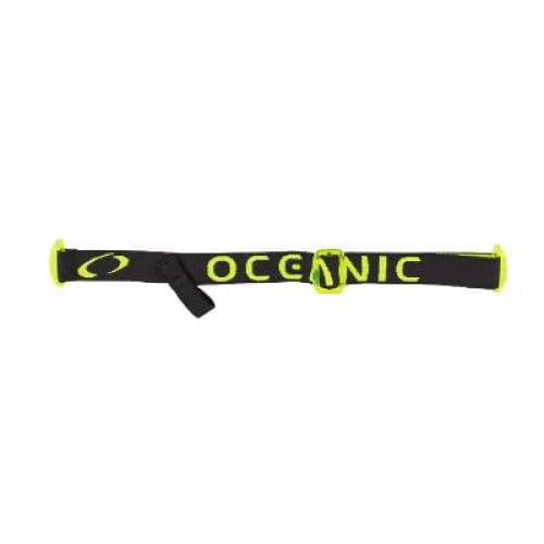 Oceanic Mask Strap Cyanea - Black / Yellow - Accessories