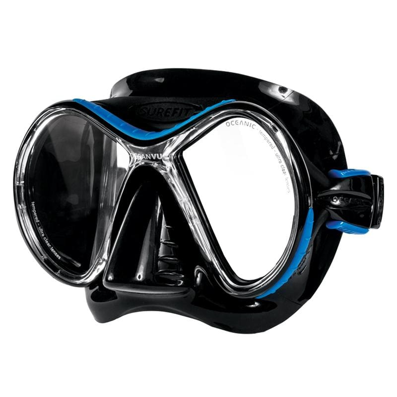 Oceanic Ocean Vu Mask - Black / Blue - Masks