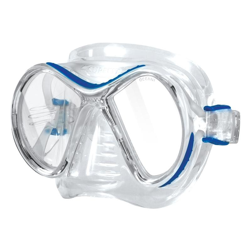 Oceanic Ocean Vu Mask - Blue / Clear - Masks