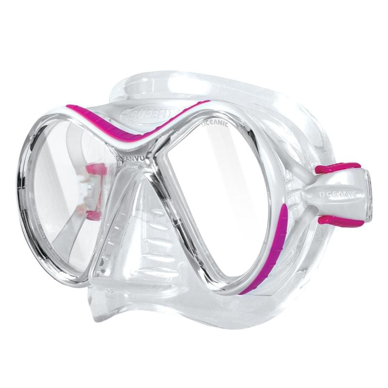 Oceanic Ocean Vu Mask - Pink / Clear - Masks