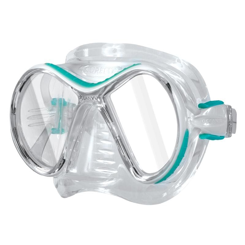 Oceanic Ocean Vu Mask - Sea Blue / Clear - Masks