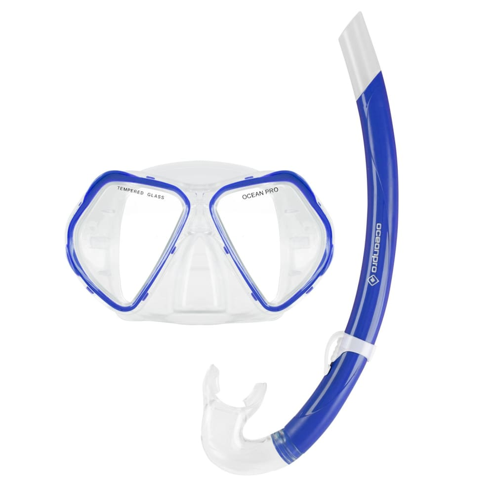 Oceanpro Cruz Mask Snorkel Set - Mask / Snorkel Sets
