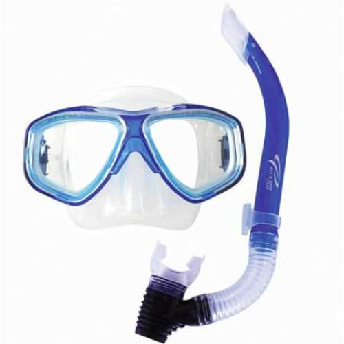 Oceanpro Eclipse Oasis Mask Snorkel Set - Blue - Mask / Snorkel Sets
