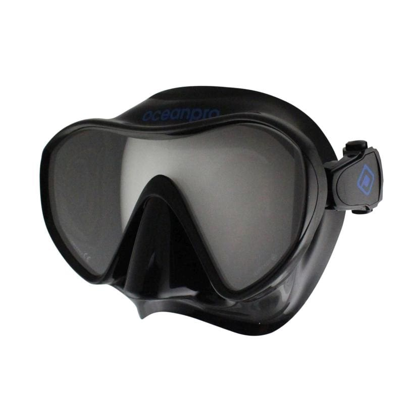 Oceanpro Fraser Mask - Black / Blue - Masks