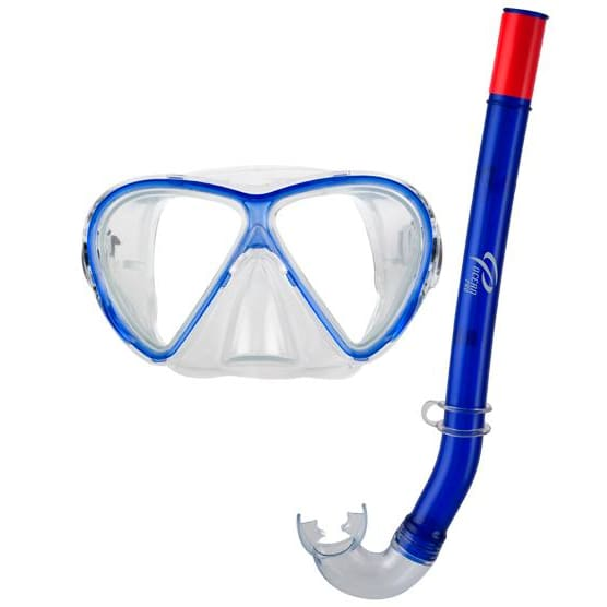 Oceanpro Starfish Jnr Mask Snorkel Set - Blue - Mask / Snorkel Sets