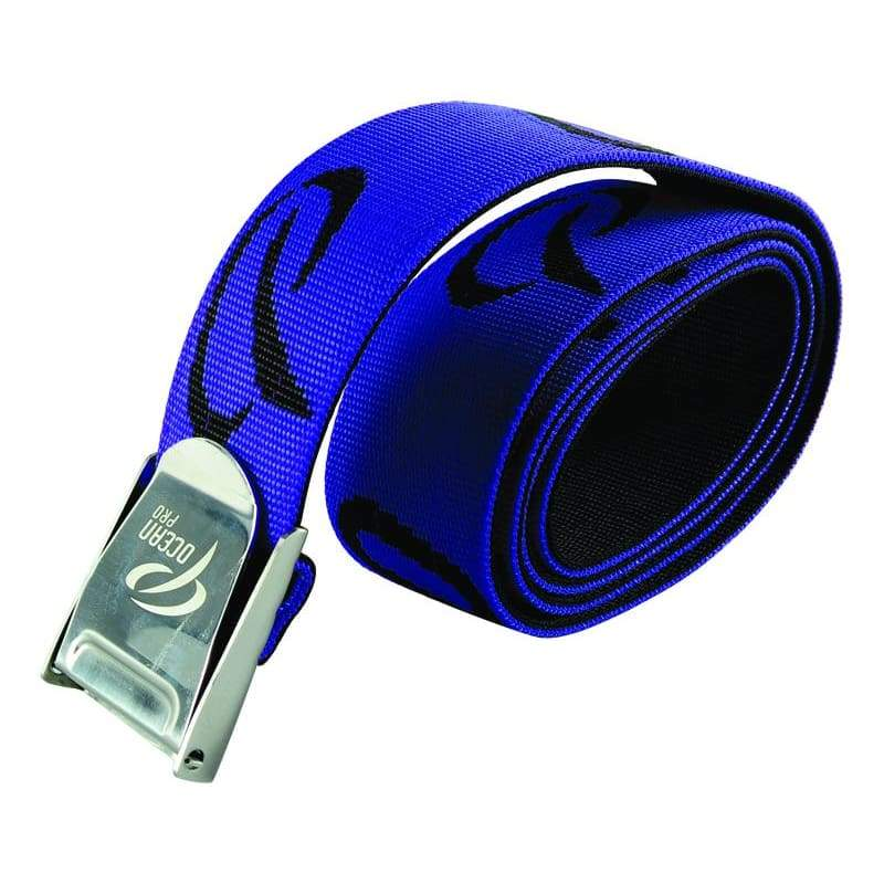 Oceanpro Weight Belt Webbing - Blue - Weight Belts