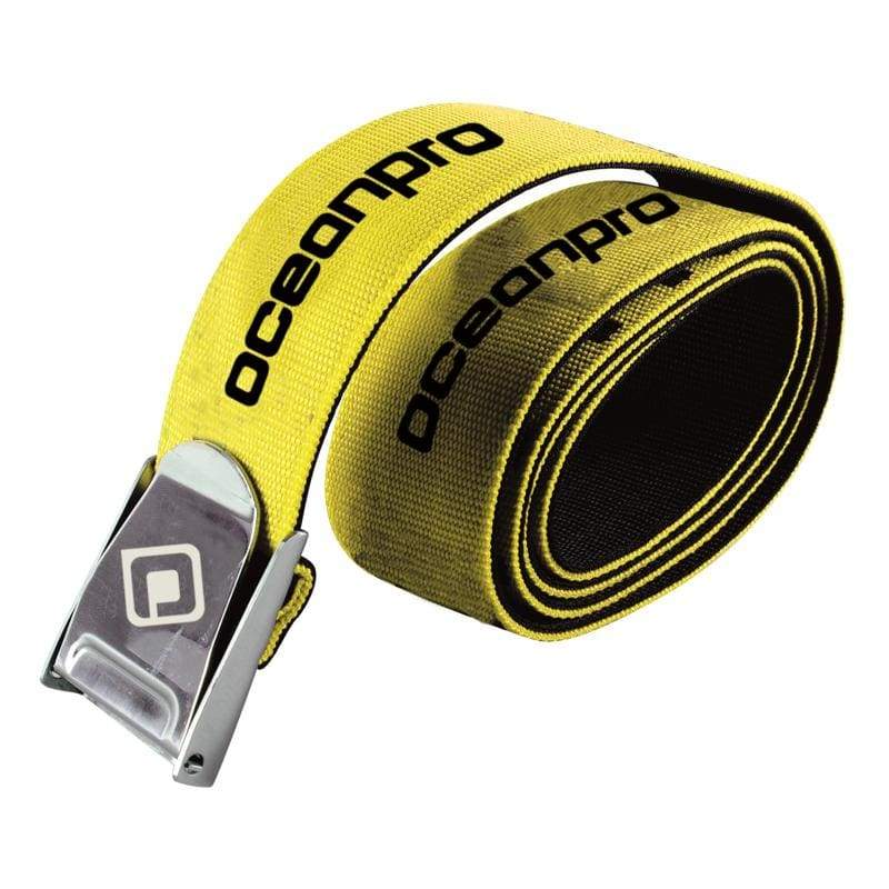 Oceanpro Weight Belt Webbing - Yellow - Weight Belts