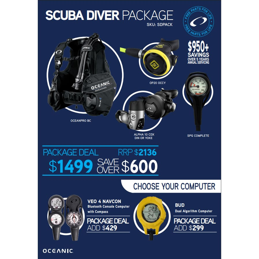 Scuba Diver Package - SCUBA Packages