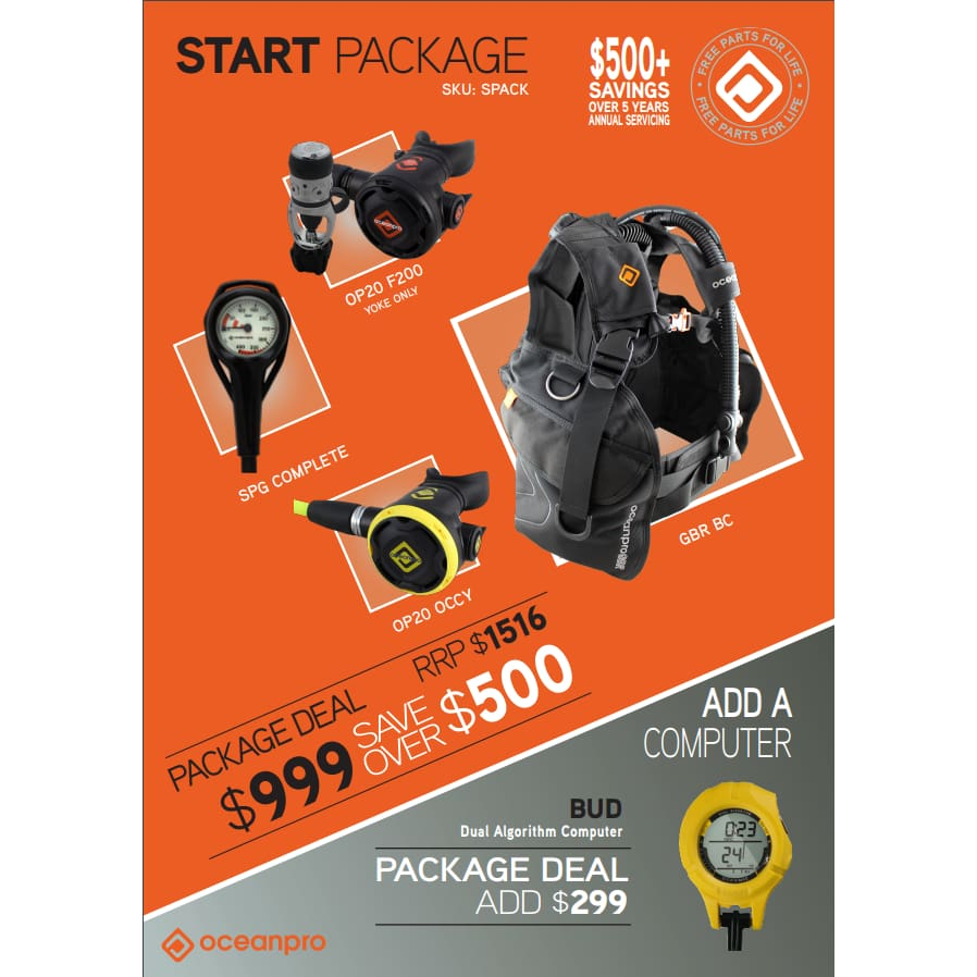 Start Package - SCUBA Packages