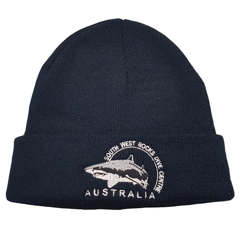 SWRDC Beanie - Knitted Acrylic - Navy - Beanies