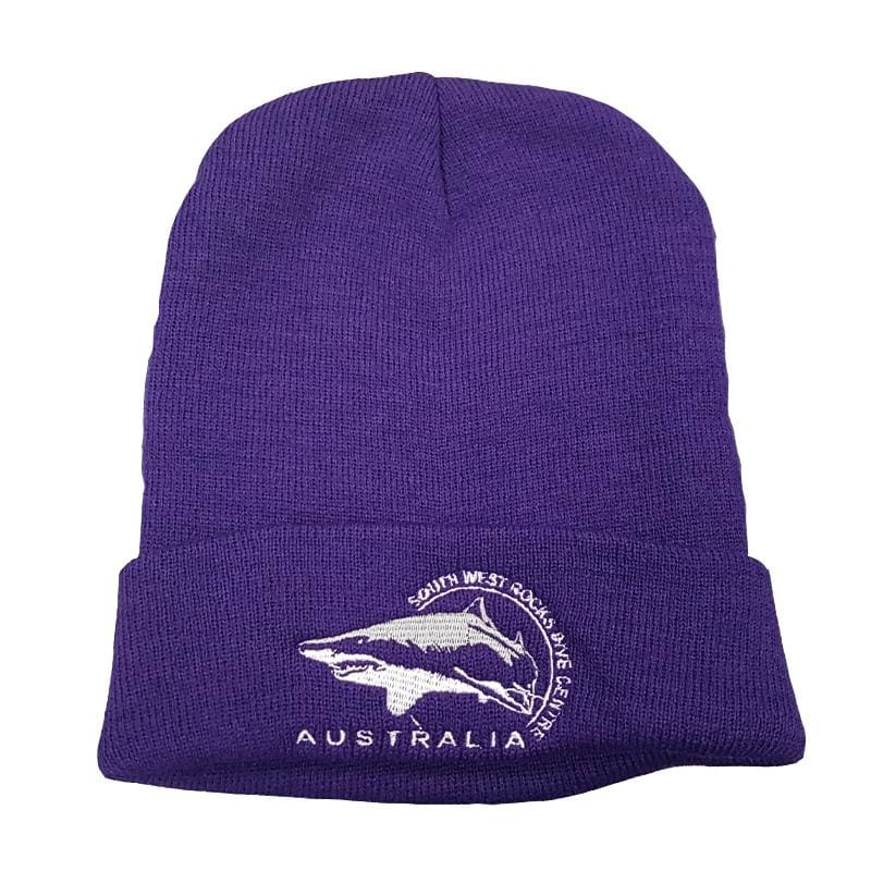 SWRDC Beanie - Knitted Acrylic - Purple - Beanies