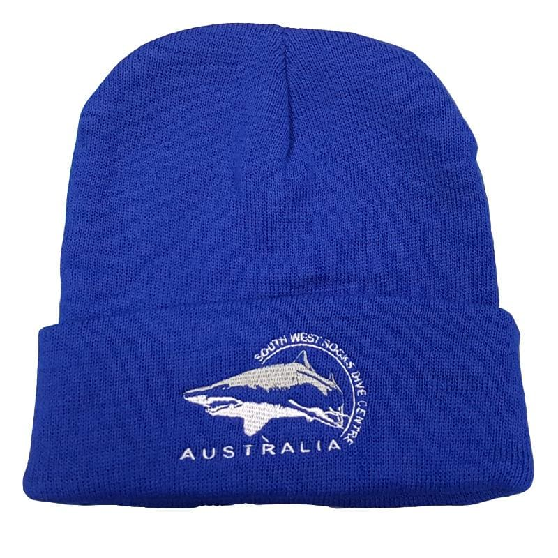 SWRDC Beanie - Knitted Acrylic - Royal Blue - Beanies