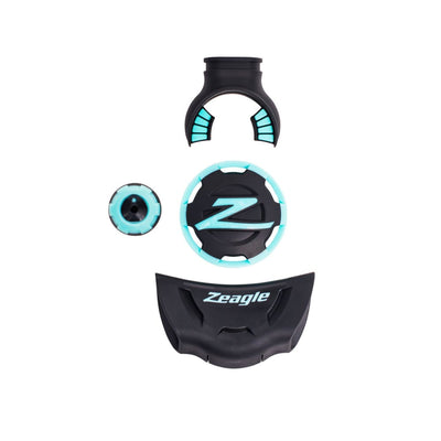 Zeagle F8 Colour Kit - Aqua - Regulator Accessories