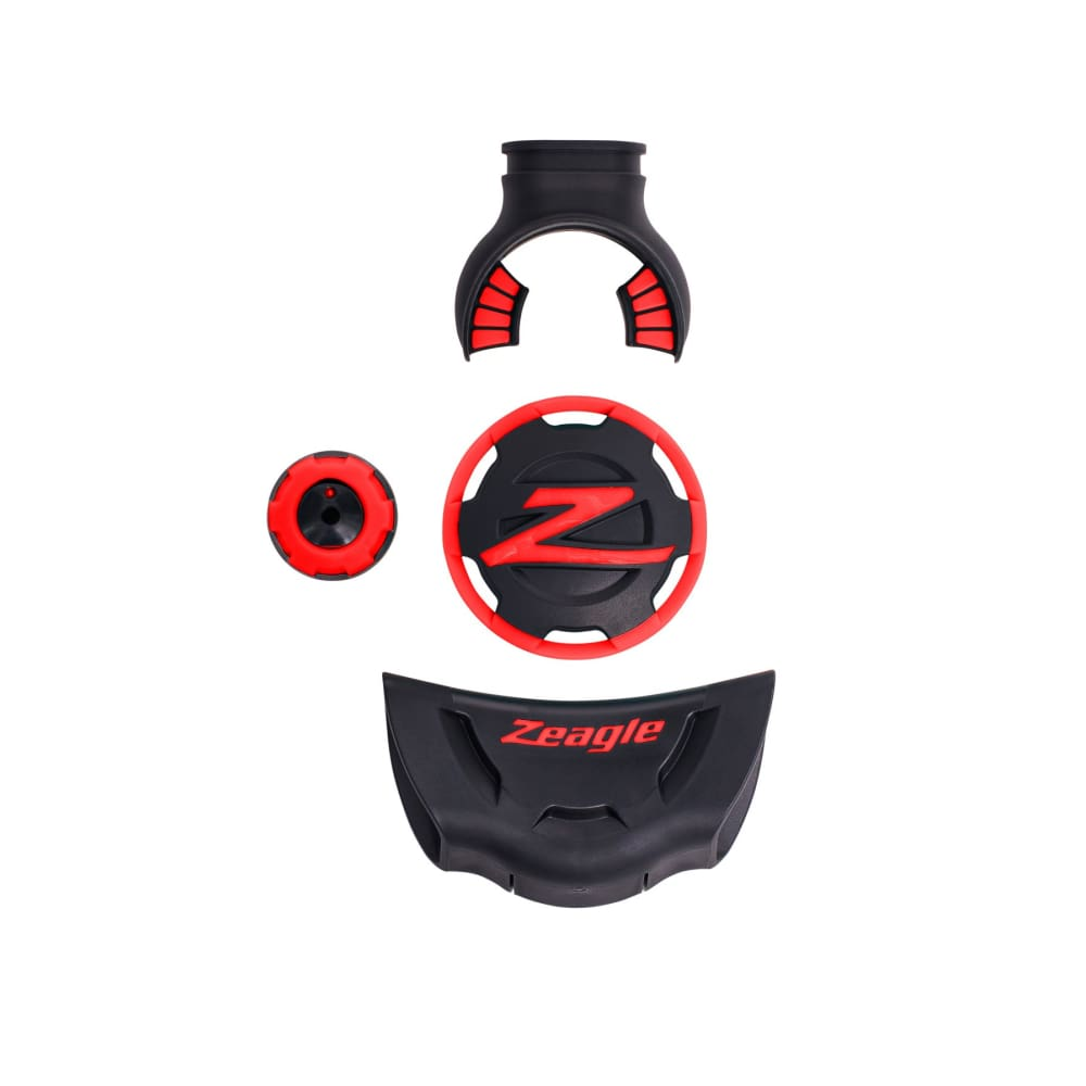 Zeagle F8 Colour Kit - Red - Regulator Accessories