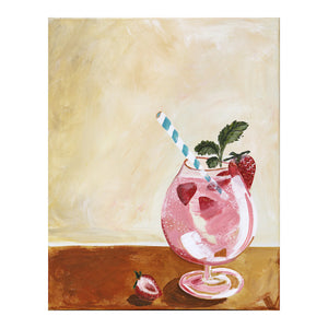STRAWBERRY SPRITZ  prints available click on link in here