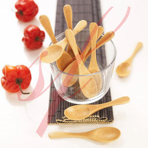 Bamboo spoon 3.9 in.