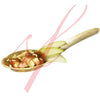 Bamboo leaf spoon 5 in.