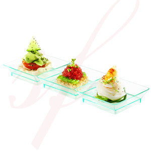 Trio plate 7.5 in. Sea Green - 200/cs