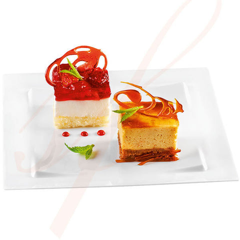 Premium Square Plastic Plate 6 in. - 100/cs