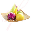 Bamboo Kito square plate 2.5 in.