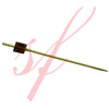 Cube skewer 3.5 in. brown