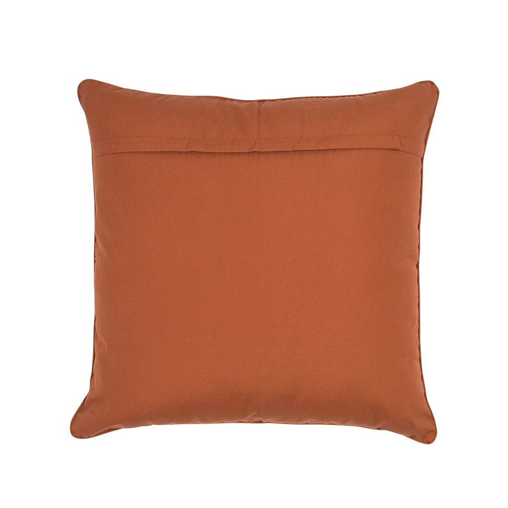 wandering folk - small cushion - spice forest