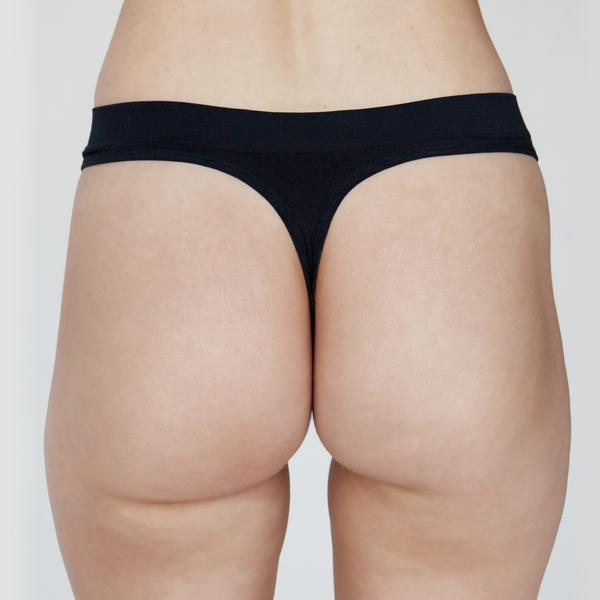 nativ basics - cheeky g - black eco tencel