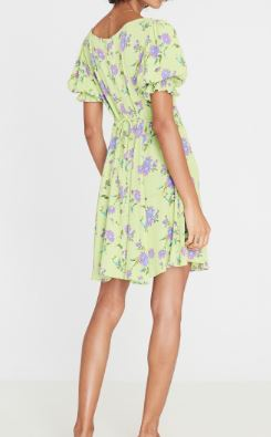 faithfull the brand - la barben mini dress - locanda floral