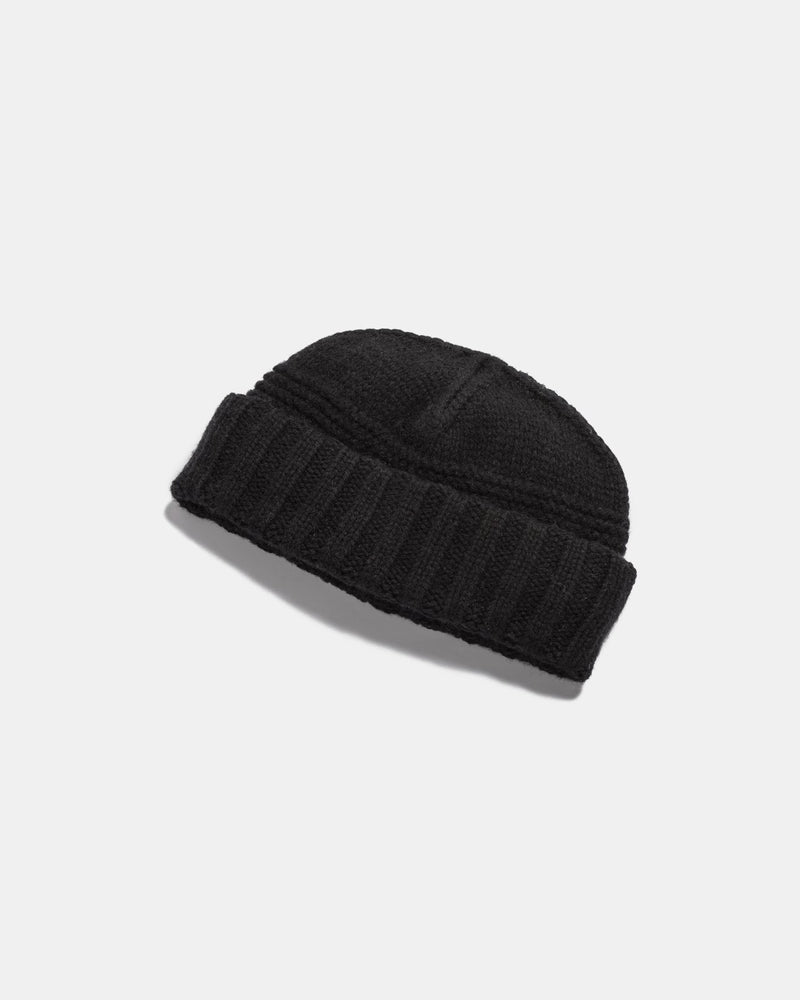 will and bear - doc beanie - black
