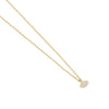 by charlotte - eye of protection necklace - gold