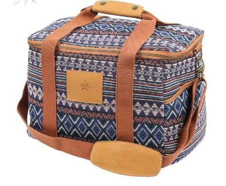 wandering folk - acacia cooler bag - twilight