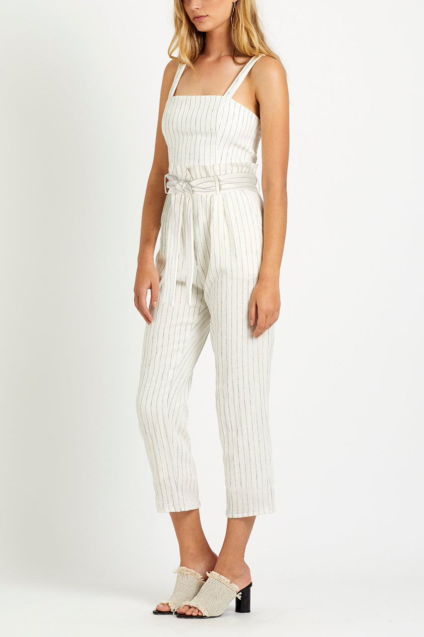 steele - maple pant - stripe